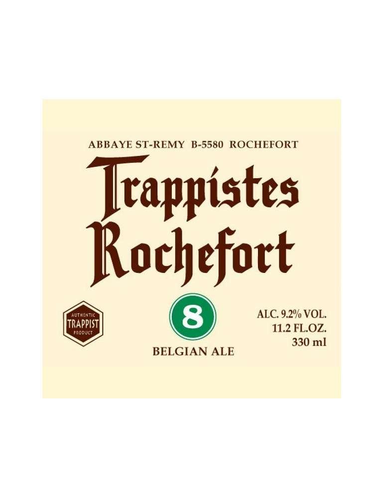 Etiqueta Trappistes Rochefort 8