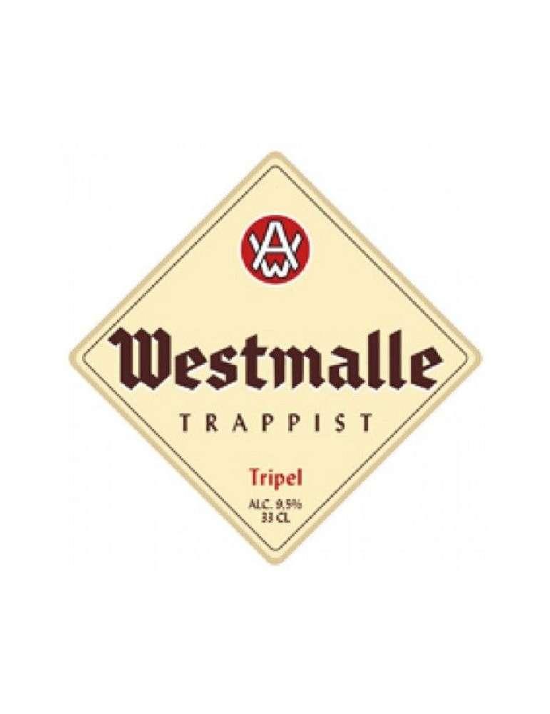 Etiqueta Westmalle Tripel