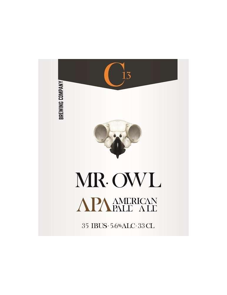 Cerveza Mr.Owl American Pale Ale