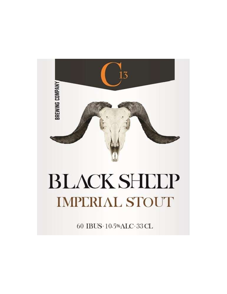 Cerveza Black Sheep Imperial Stout