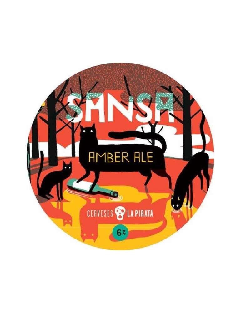 Cerveza La Pirata Sansa Amber Ale