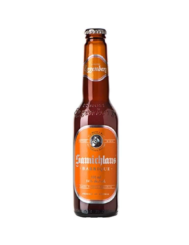 Cerveza austriaca Schloss Eggenberg Samichlaus Barrique 33cl.