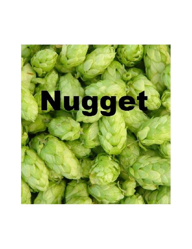 Bolsa 100 gramos de lúpulo Nugget en flor