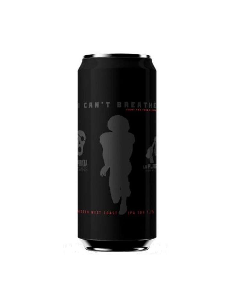 La Pirata I Can't Breathe Modern East Coast IPA TDH lata 44cl