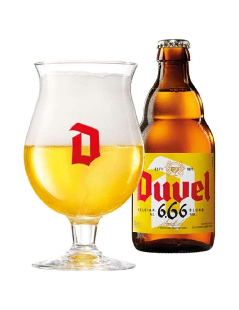 Cerveza belga Duvel 6.66