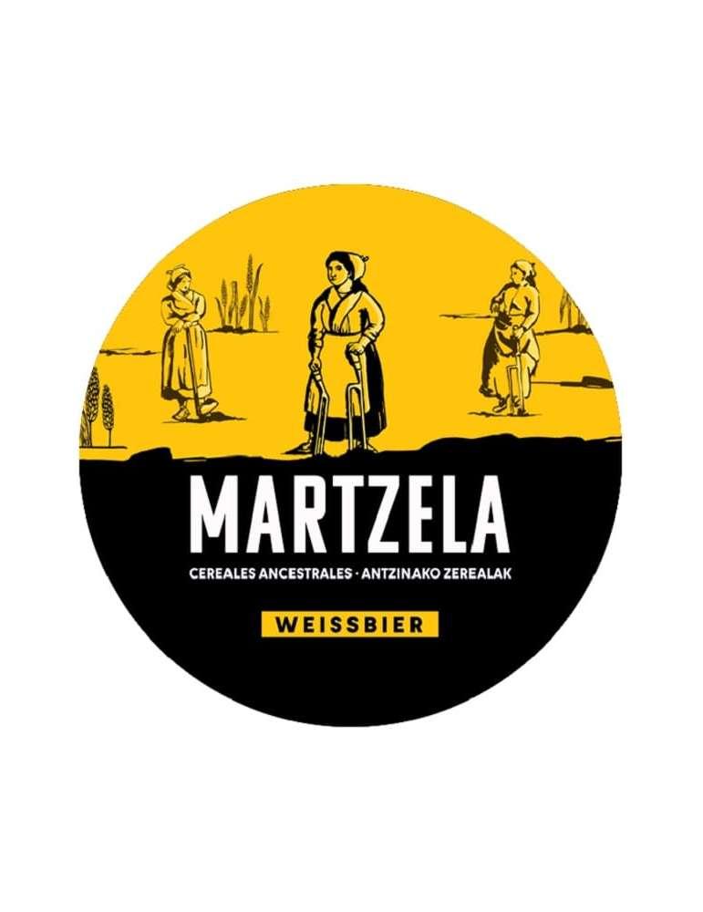 Etiqueta Cerveza Boga Martzela