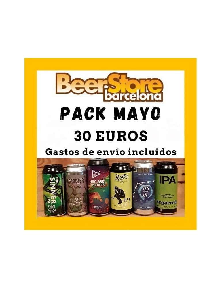 Pack cervezas de Mayo
