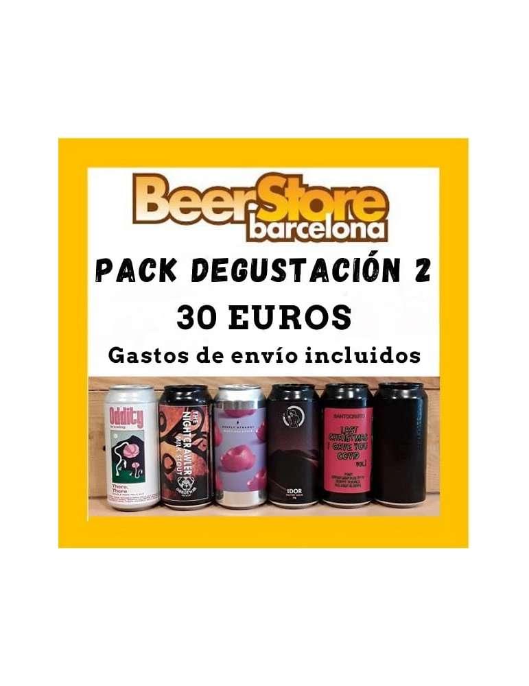 Pack Degustación 6 cervezas