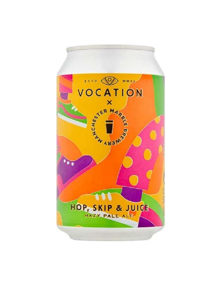 Cerveza Vocation Hop, Skip, Juice 33cl