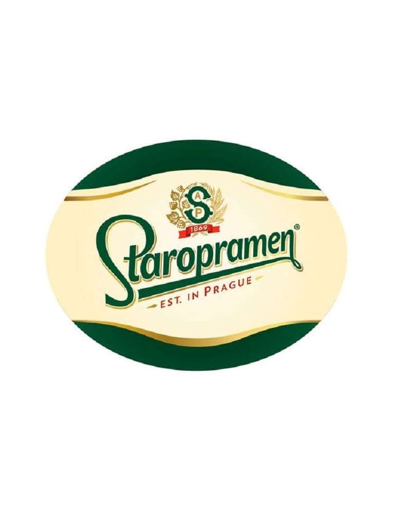 Etiqueta Cerveza Staropramen