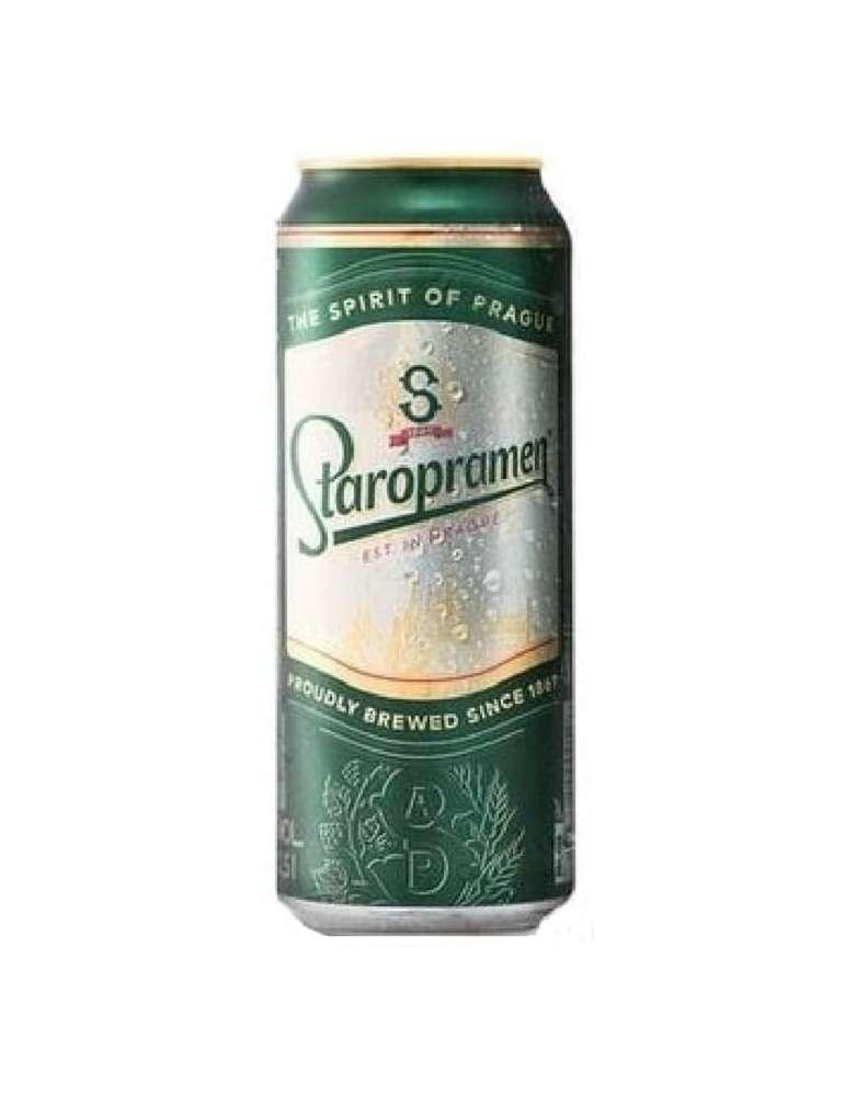 Cerveza checa Staropramen Lata 50cl