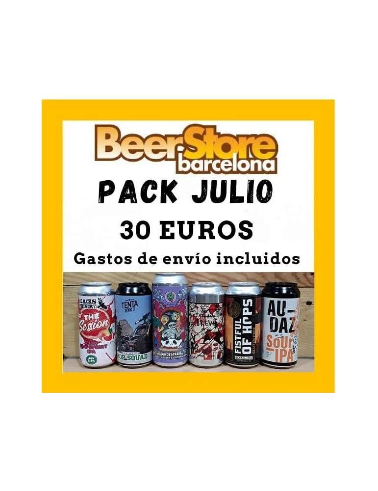 Pack 6 cervezas IPAs en lata