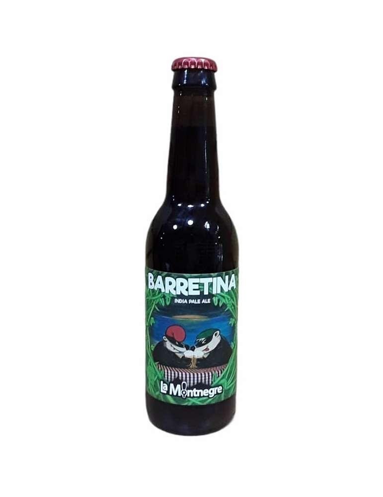 Cerveza Barretina IPA de La Montnegre