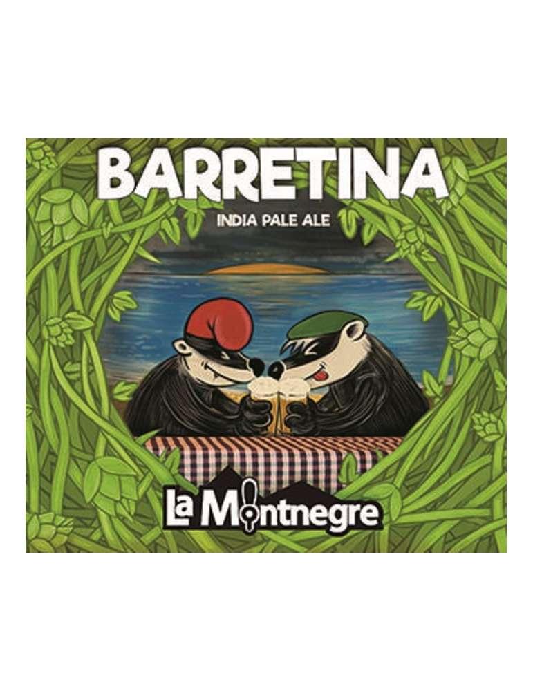 Etiqueta Cerveza Barretina