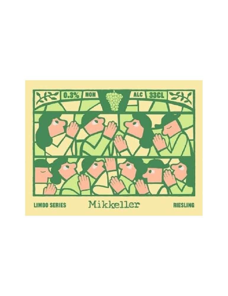 Etiqueta Mikkeller Limbo Series Riesling