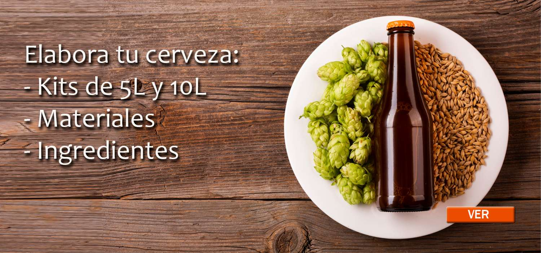 Elabora tu cerveza